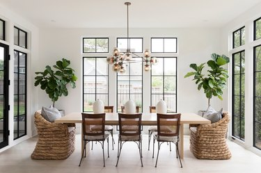minimalist decorating with light color palette