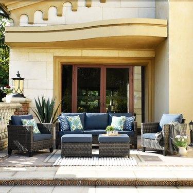 wayfair patio conversation set