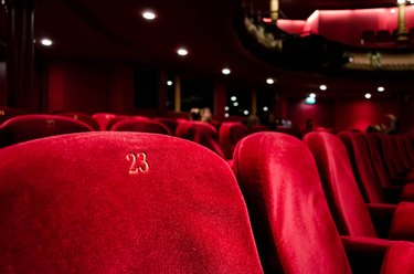 movie theater chairs