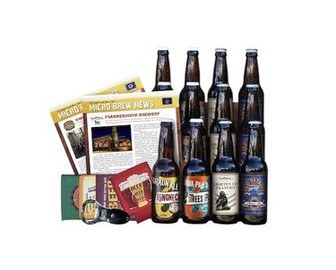 Craft beer collection