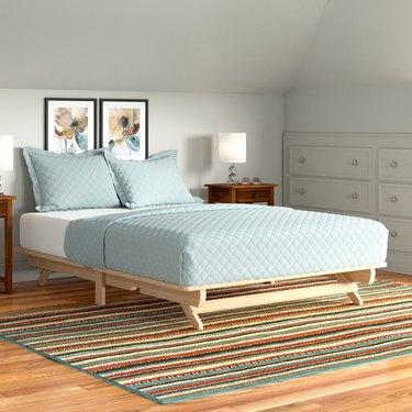 Andover Mills Evie Solid Wood Platform Bed