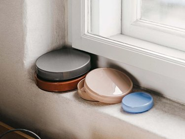 Circular storage containers