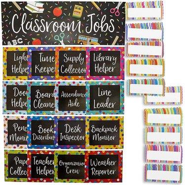 chalkboard style bulletin board