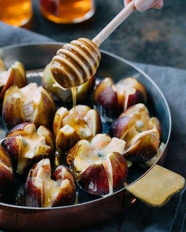 Striped Spatula Stuffed Figs