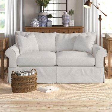 Loveseat in living room