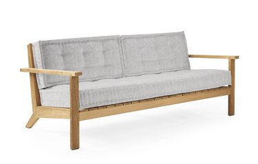 Outdoor sofa with Sunbrella fabric