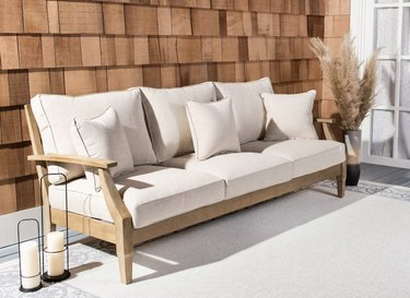 Outdoor area with couch