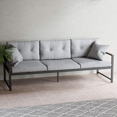 Modern outdoor couch