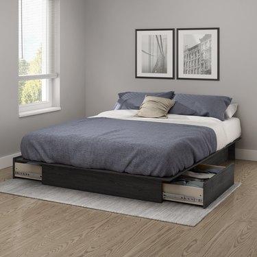 Andover Mills Mosley Storage Platform Bed