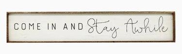 Inspirational Wood Sign