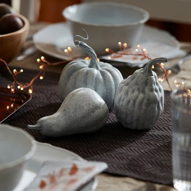 Höstkväll Decorative Pumpkin (set of three)