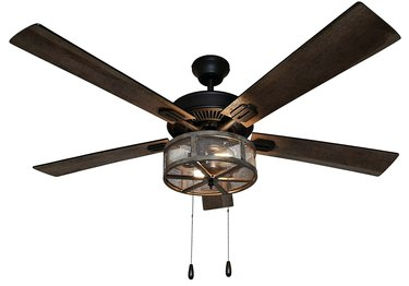 Farmhouse LED Ceiling Fan