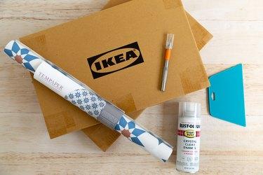 supplies IKEA Hack outdoor bar table