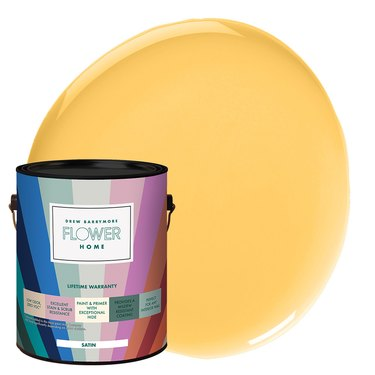 lemon yellow paint