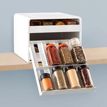 spice rack ideas adjustable dividers