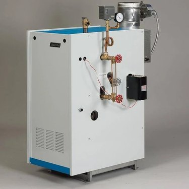 A disconnected white boilers
