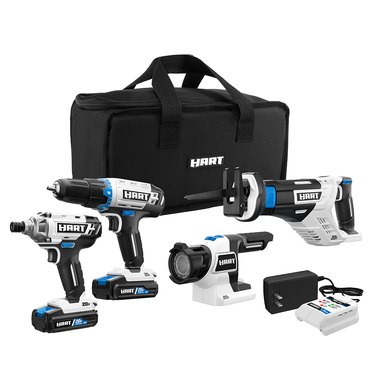 four tool combo drill kit