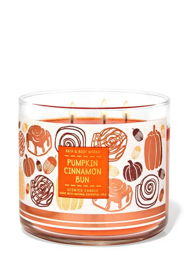 Pumpkin Cinnamon Bun candle