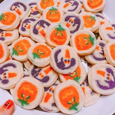 pillsbury halloween ghost and pumpkin cookies