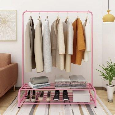 Cenko 47.24'' Clothes Rack, $42.99