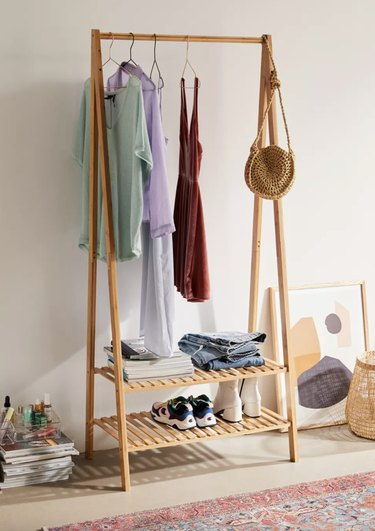 Levy Clothing Rack, $129.00