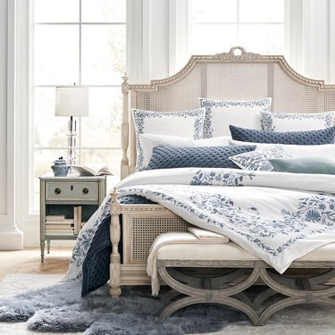 Beauvier French Cane Bed, $2,759.08