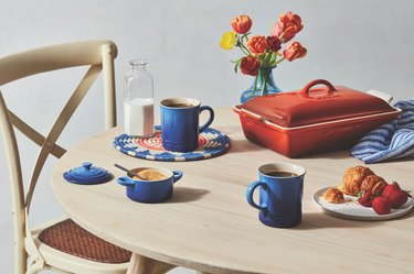 This New Le Creuset Hue Takes Inspiration From a Mineral