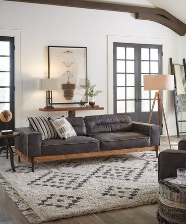 wayfair best rustic couches