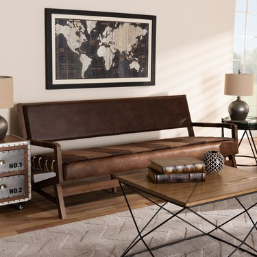 walmart best rustic couches