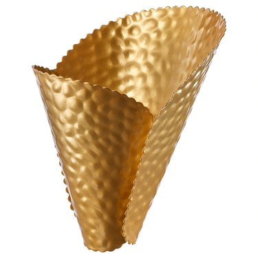 gold lampshade