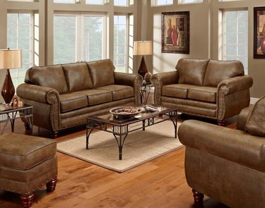 lowe's best rustic couches