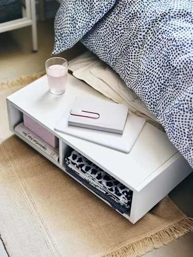 under bed storage ideas drawer bedside table combo