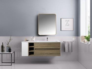 cabinet mirror