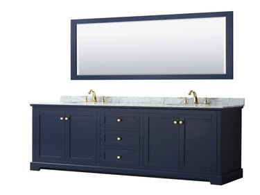 free-standing vanity