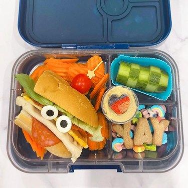 Silly sandwich bento box
