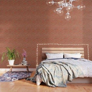 Brick Wall Wallpaper, $34.30