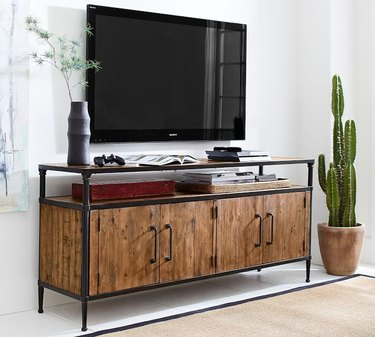 Juno Reclaimed Wood Media Console Table, $999