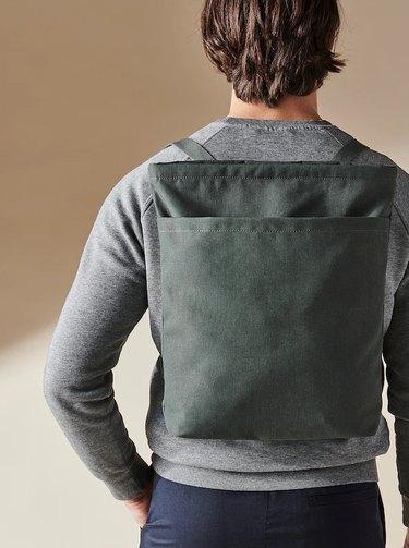 ikea olive dromsack backpack tote bag