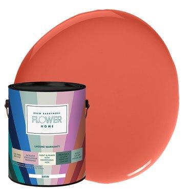 Flower Home Paint in Orange Poppy