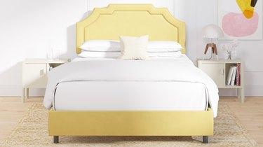 the inside Art Deco Bed Frame