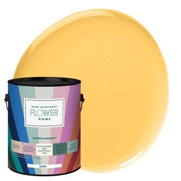 Flower Home Paint in Lemon Yellow