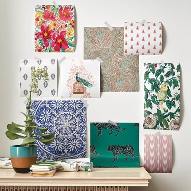 target Opalhouse Canary Floral Peel & Stick Wallpaper