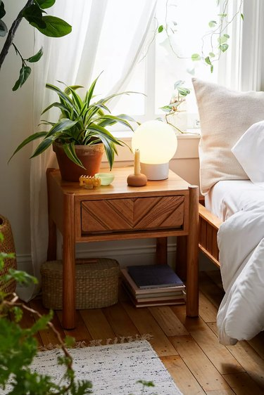 urban outfitters midcentury modern bedroom furniture clara nightstand