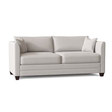 Wayfair Sarah Sharkfin Sofa Bed in Sustain Dursky Ivory