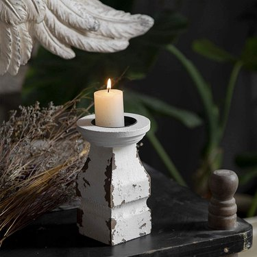 SOFE Store Rustic Candle Holder for Pillar Candles