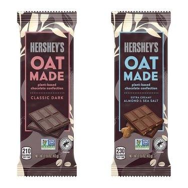 Hershey's Oat Made chocolate bars