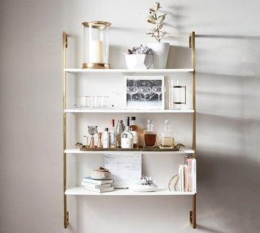 Pottery Barn Olivia Wall-Mounted Shelves