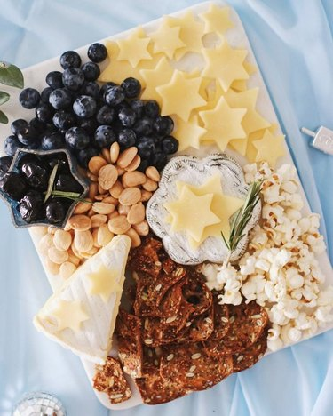 Star of David Cheese Plate