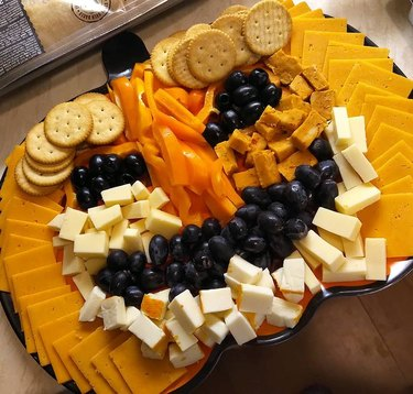 Pumpkin Cheese Board