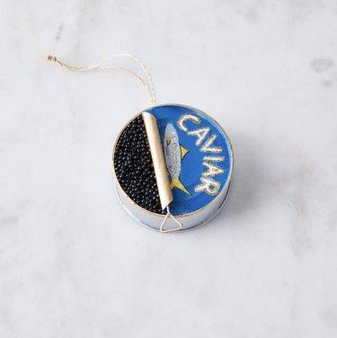 Caviar ornament
